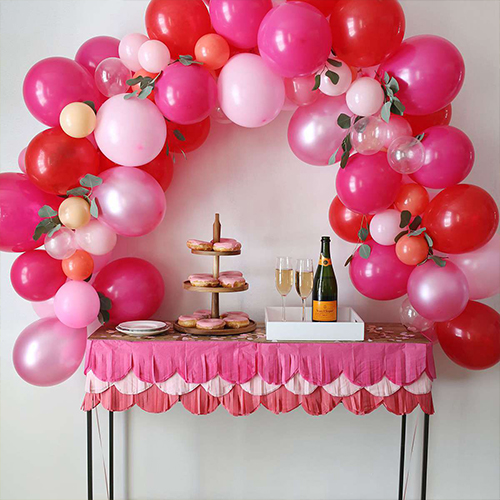 Schedule a surprise celebration for mom and convey your gratitude