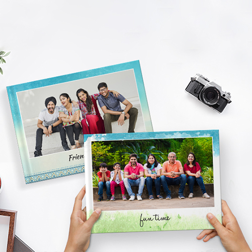 Recreate the blissful moments in a Personalised album or photo frame