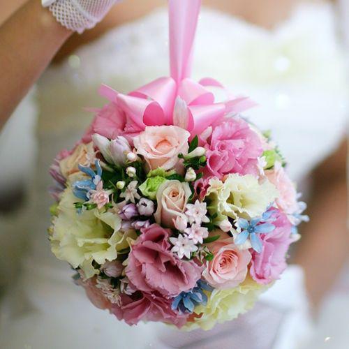 Stunning flower balls