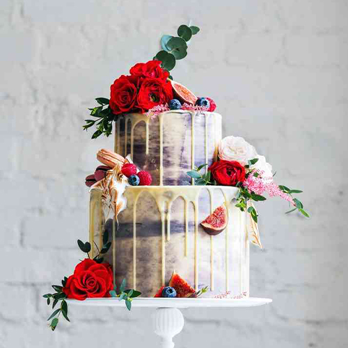 Chocolate Drip Cakes for Marriage