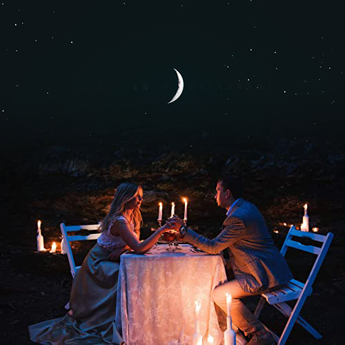 Dinner under with Moon and Star