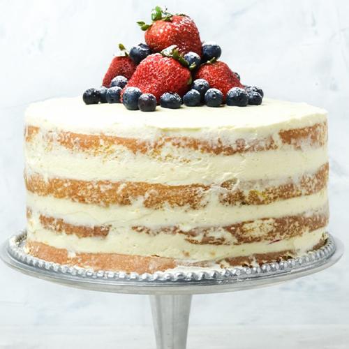 Naked Sponge Cake
