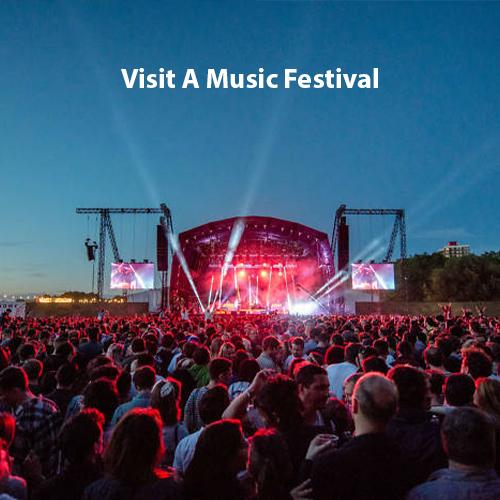Visit A Music Festival