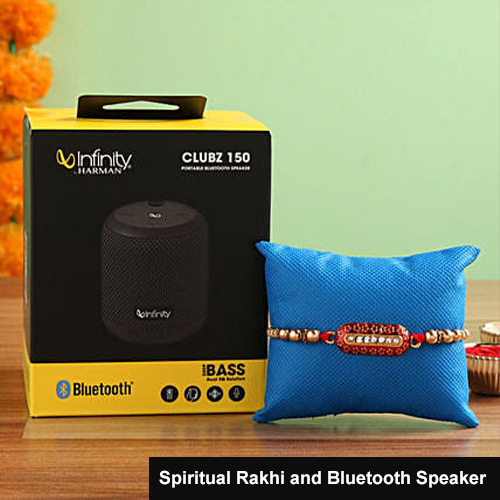 Spiritual Rakhi and Bluetooth Speaker