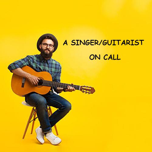 A singerGuitarist On Call