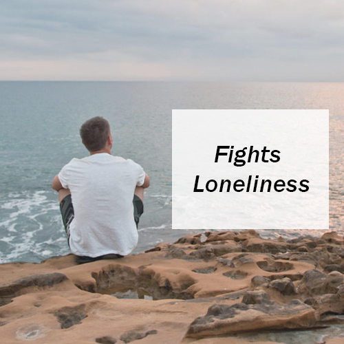 Fights Loneliness