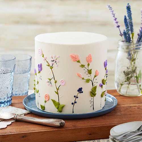 A Floral Cake