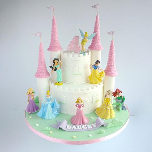Princess Of The Castle Cake