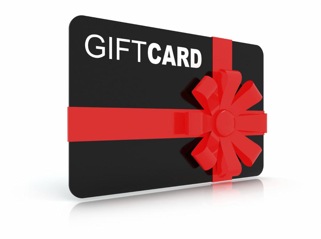 Gift Voucher Cards for Shopping