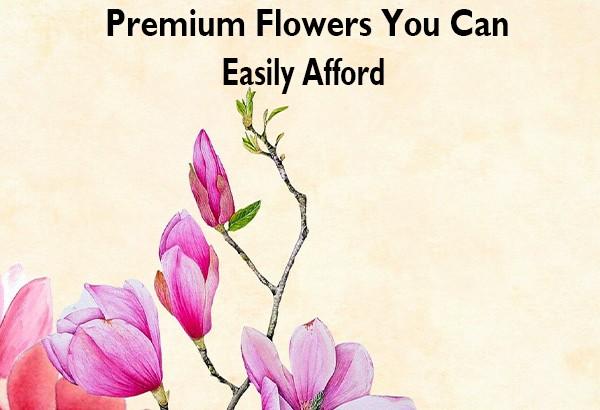 Send Premium Flowers Online