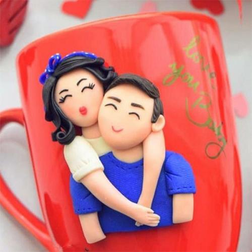 3D Couple Mug