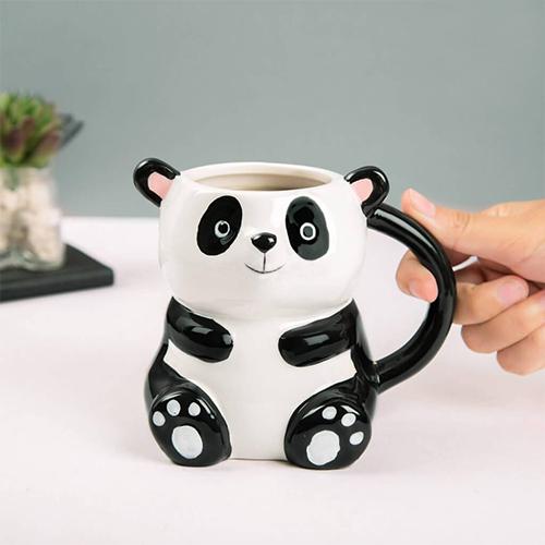 Cute 3D Panda Mug