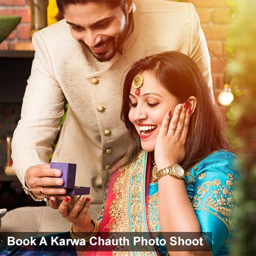 Book A Karwa Chauth Photo Shoot
