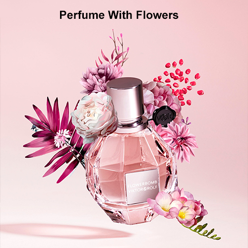 Perfume With Flowers