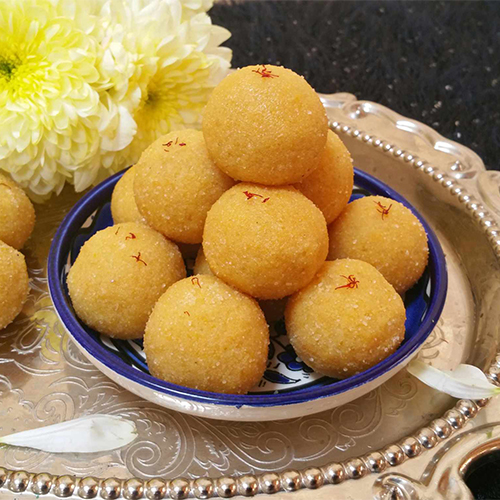 Delicious Moong Dal Ladoo