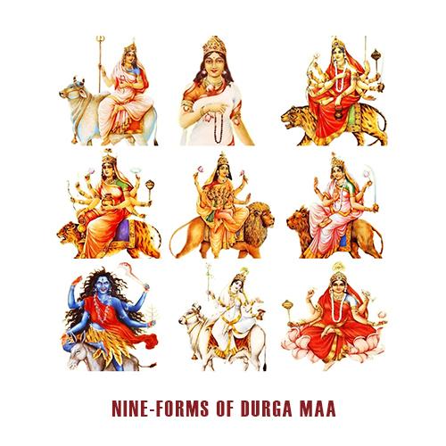 Nine-Forms of Durga Maa