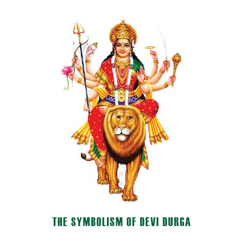 The symbolism of Devi Durga