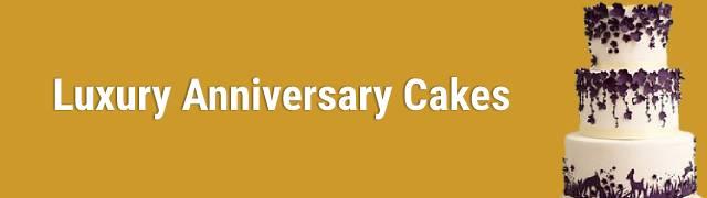 Luxury Cakes for Anniversary