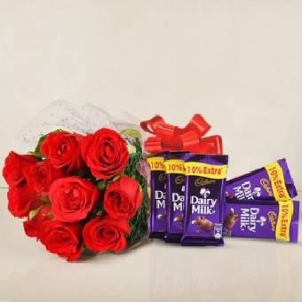 Flowers Chocolates Combos
