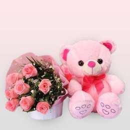 Flowers & Teddy