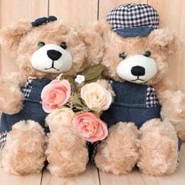 Flowers & Teddy Bear