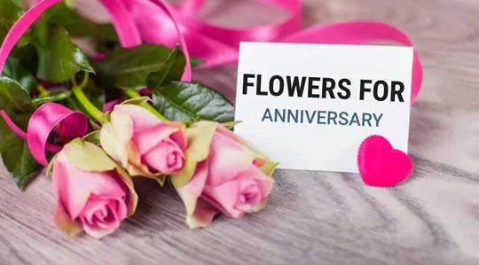 Flower for Anniversary
