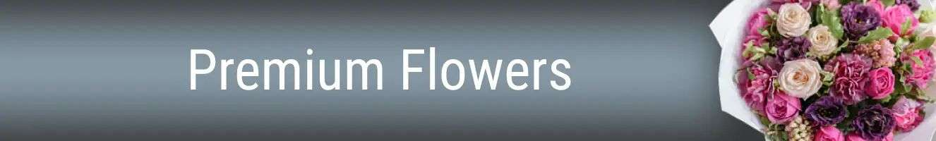 Premium Flower Banner