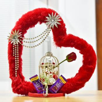Enchanted Heart Arrangement