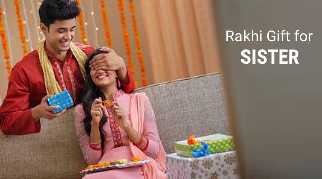 Celebrate Rakhi Gifts fore Sister