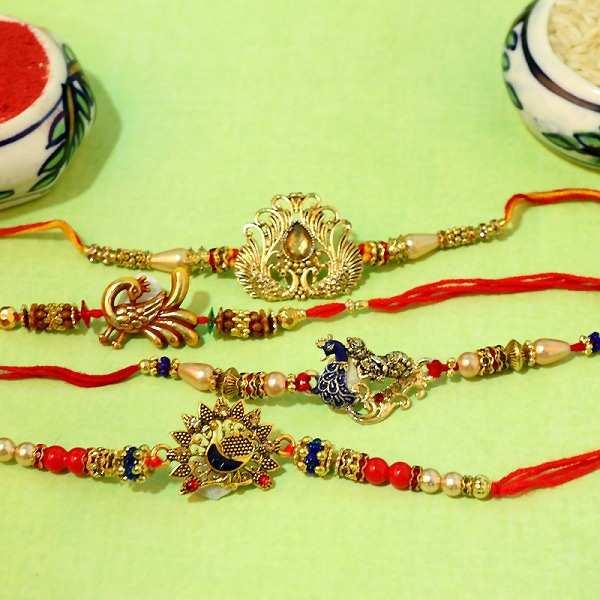 Rakhi Set of 4