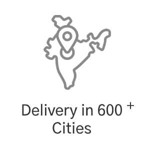 Delivery on 600+ Cities