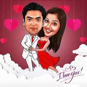Valentine Caricature