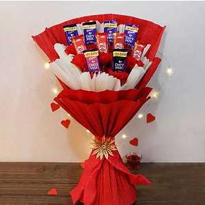 Valentine Chocolates Bouquet