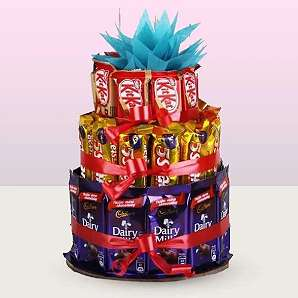 Valentine Chocolate Tower