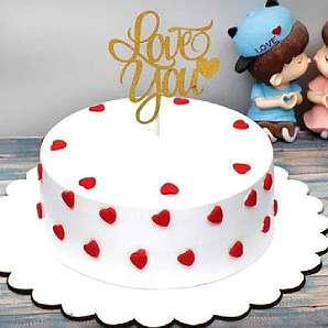 Valentine Designer Cake