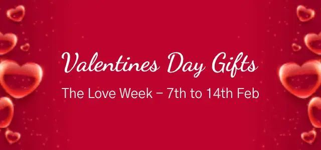 Valentine Gifts Same Day Delivery