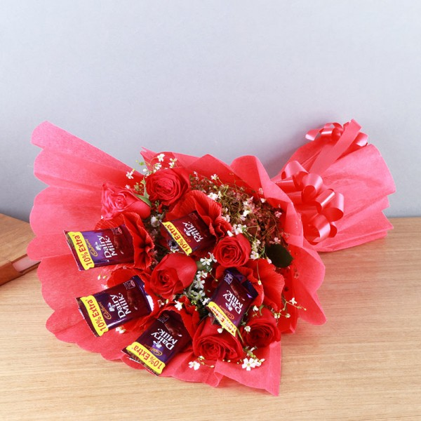 Flowers Chocolates Bouquet