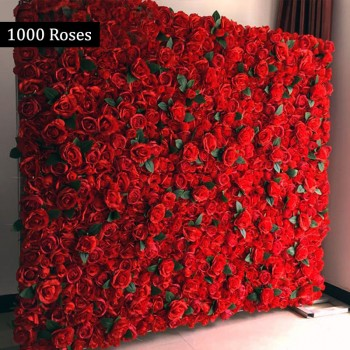 1000 Red Roses Special Wall Arrangement