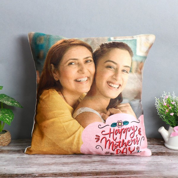 Mothers Day Personalised Photo Cushion