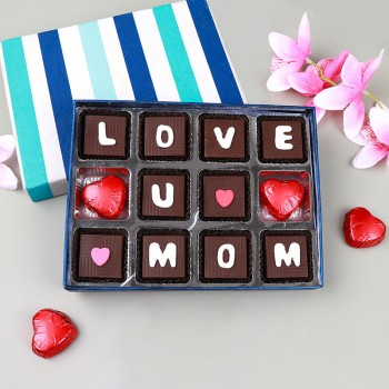 12 pcs Handmade Chocoholic for Mom