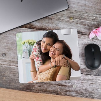 One Personalised Square Shape Mouse Pad