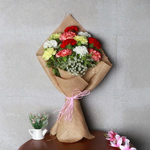 Mixed Carnations Bouquet
