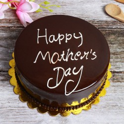 Half Kg Chocolate Mother's Day Theme Cake