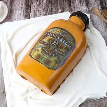 Delicious Liquor Theme Cake