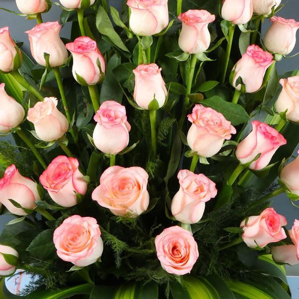 Roses Basket Arrangement