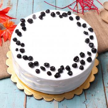 Half Kg Blueberry Cake
