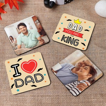 Personalised Coasters For Dad