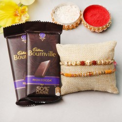 Chocoholic Rakhi Hamper
