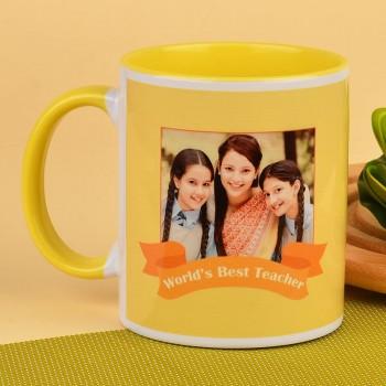 Worlds Best Teacher Personalised Mug