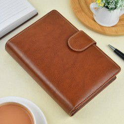 Brown Leatherite Organiser